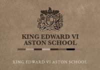 King Edward VI Aston School Boys, Birmingham