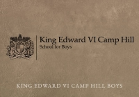 King Edward VI Camp Hill School for Boys, Birmingham