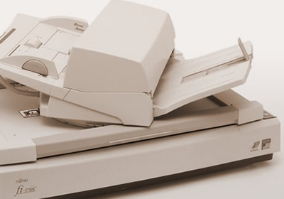 Duplex document scanner