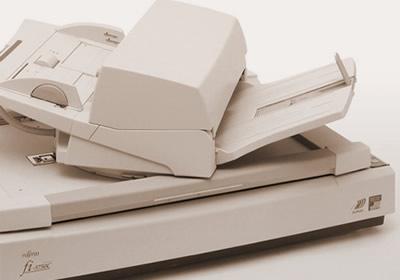 Duplex document scanner